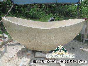 Jual Bathub Marmer Ukuran Besar, Bak Mandi Marmer
