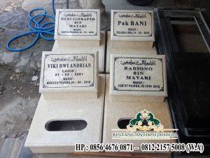 Produk Batu Nisan Marmer, Jual Batu Nisan Makam