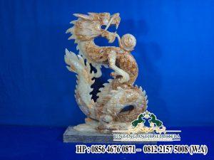 Patung Naga Onyx. Patung Murah