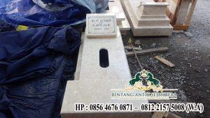 Desain Kuburan Minimalis, Kijing Makam Marmer