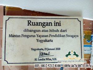 Jual Prasasti Peresmian Model Prasati Terbaru Malang Jawa Timur
