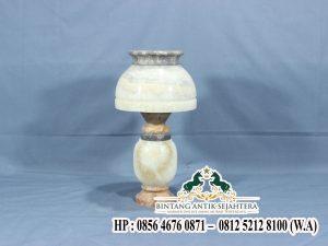 Model Kap Lampu Minimalis Batu Alam
