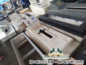 Kuburan Batu Marmer, Contoh Makam Minimalis, Model Makam Marmer Kristen