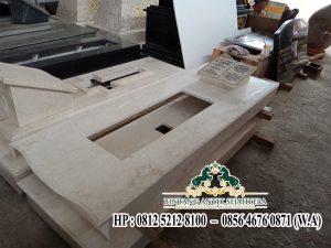 Contoh Makam Model Trap 1 Marmer