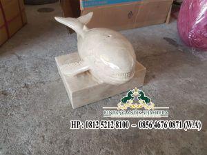 Patung Ikan Paus Marmer | Pengrajin Patung Terbaik Tulungagung