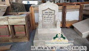 Contoh Batu Nisan Marmer, Model Nisan Marmer, Nisan Masjid Custom