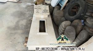 Makam Minimalis Tingkat 1 Marmer