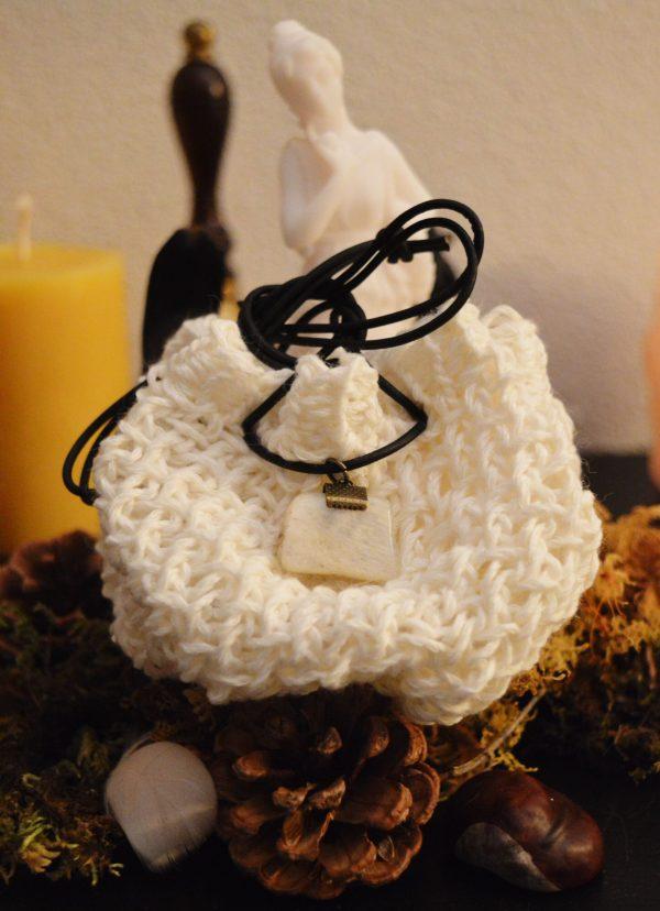 Pochon neige merinos-coton ©Sentulia