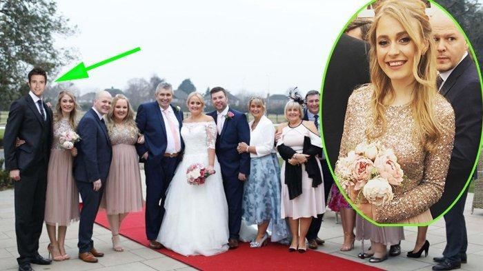 Unggah Foto Pernikahan Sang Kakak, Ada Sosok Misterius di Foto Tersebut