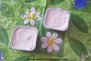 Ricotta di mandorle home made