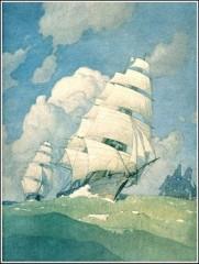 claude debussy, la mer, n. c. wyeth