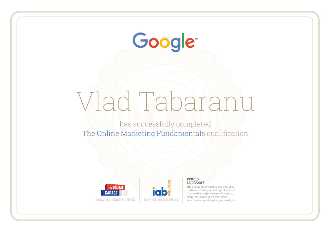 Google-online-marketing-fundamentals-certification
