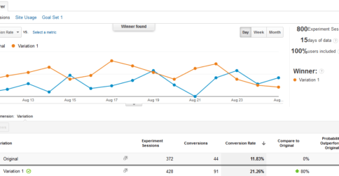 How to Run your First A/B Experiment for Free Using Google