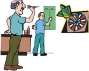 darts játékosok