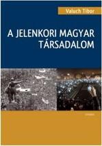 A jelenkori magyar társadalom című könyv borítója.
