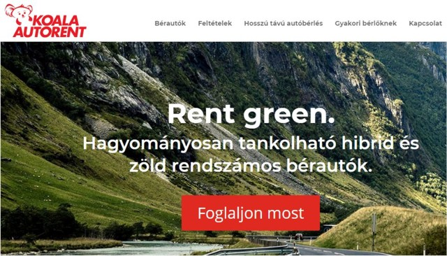 Koala Autorent - rent green