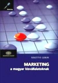 Marketing a magyar kisvállalatoknak c. könyv borítója