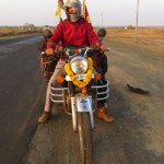 Around the world with a Royal Enfield