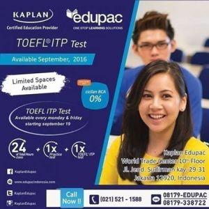 TOEFL ITP test center