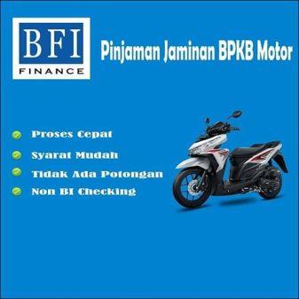 pinjaman bpkb motor