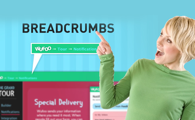 articleimage86The Advantages of Breadcrumbs for Users