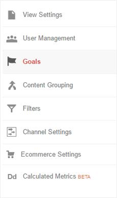 goals google analytics