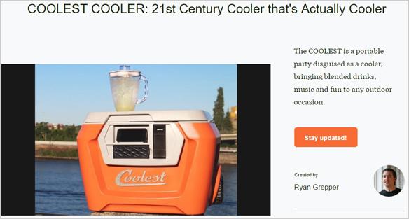 Coolest Cooler Headline