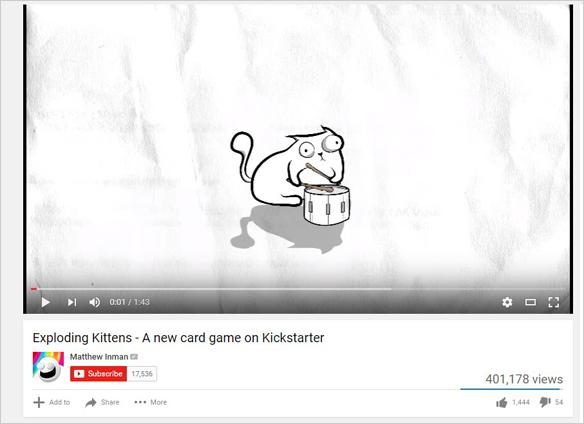 Exploding Kittens Video