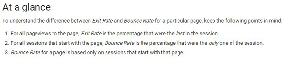Decrease your bounce and exit rates