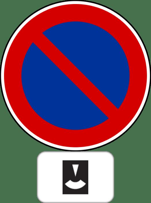 Stationnement à durée limitée avec contrôle par disque