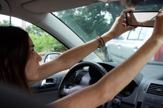 Comment régler les rétroviseurs d'une voiture : rétroviseur intérieur