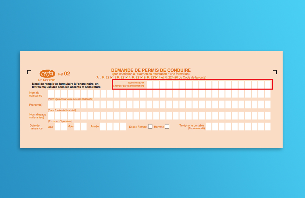 Inscription au permis