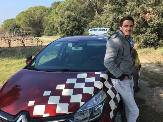 Paulin, enseignant de la conduite à Carcassonne, partenaire lepermislibre