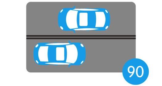 Limitation de la vitesse maintenue à 90 km/h sur les routes avec séparateur central