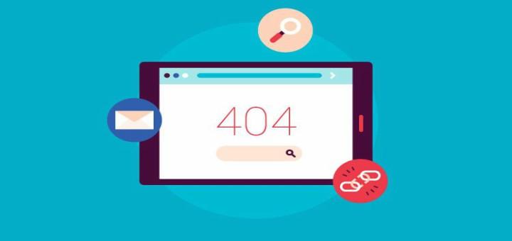 error 404 por enlaces antiguos