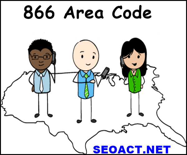 What city uses the 866 area code?