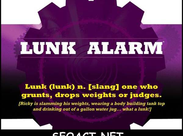 What is Planet Fitness's 'lunk alarm'?