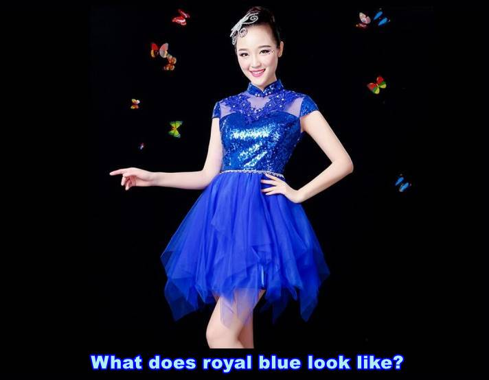 What does royal blue look like?
