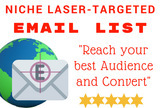 Buy a niche targeted email list