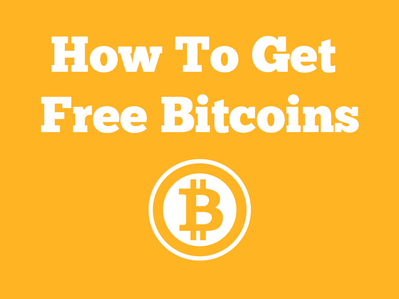 Teach You How To Get Free Bitcoins Without Mining For $1
