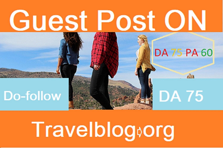 Travel Blog org