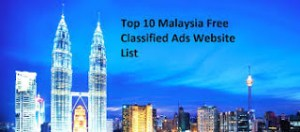Top High PR Malaysia Classified Sites List