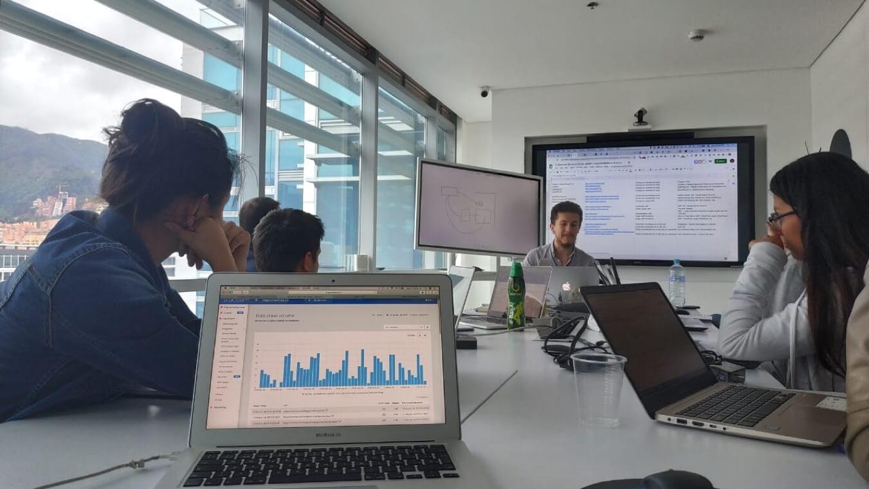 Auditoría de SEO en el curso de SEO en Bogotá