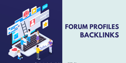 Forum profiles backlinks