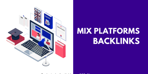 Mix platforms backlinks