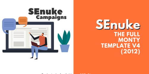 SEnuke - The full monty template V4 (2012) - Campaign