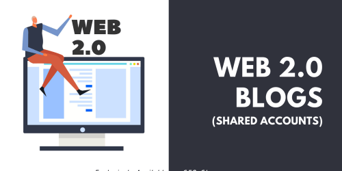 Web 2.0 blogs (Shared accounts)
