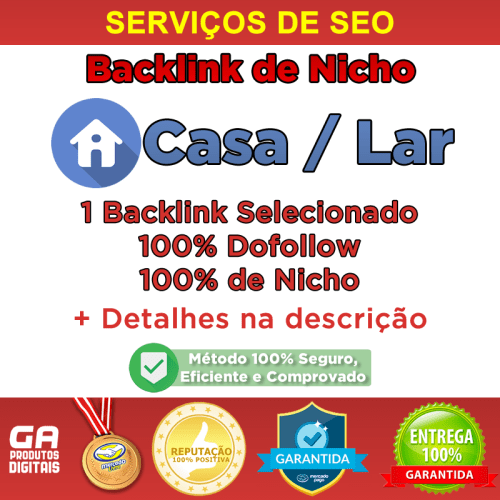 Backlink Nicho Casa / Lar Dofollow Guest Post Seo