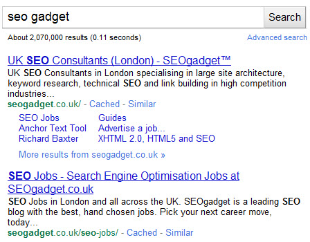 better title display in serps