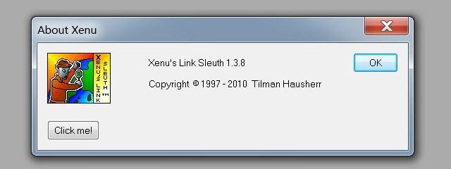 проверка ссылок сайта программой XENU